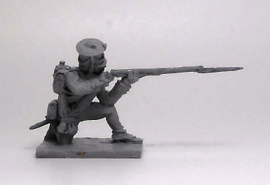 Soldier Jaeger Regiment (№1). Russian Empire, 1812-14; 1/72 (20 mm)
