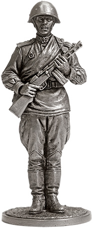 Guard infantryman. USSR, 1943-45; 54 mm