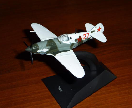 LaGG-3 - Soviet fighter aircraft; 1/100