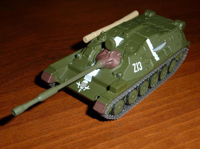 ASU-85 - Soviet airborne self-propelled gun; 1/72