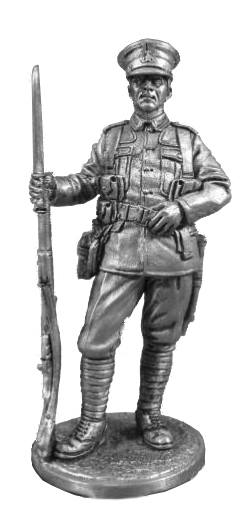 Private infantry regiment. Great Britain, 1914-18; 54 mm