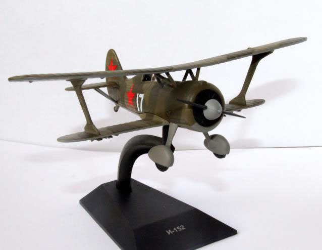 I-15 bis — Soviet fighter; 1/72