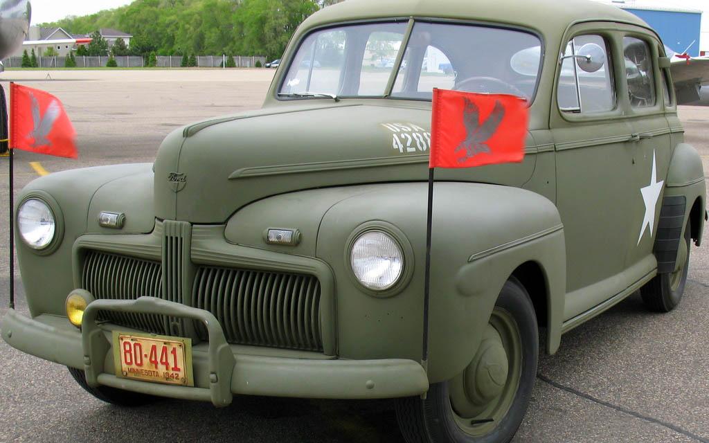Ford Fordor Model 1942 Us Army Staff Car 1 72