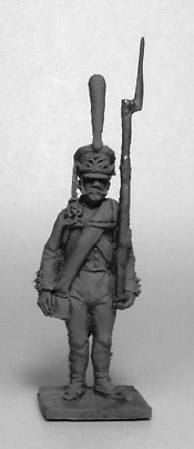 Soldier of the Guards Infantry Regiment (№1). Russian Empire, 1812-14; 1/72 (20 mm)
