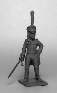 Officer of the Guards Infantry Regiment. Russian Empire, 1812-14; 1/72 (20 mm)