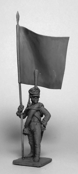 Standard-bearer of the Guard Infantry Regiment. Russian Empire, 1812-14; 1/72 (20 mm)