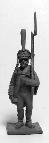 Soldier of the Guards Infantry Regiment (№2). Russian Empire, 1812-14; 1/72 (20 mm)