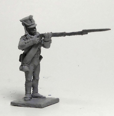 Soldier Jaeger Regiment (№2). Russian Empire, 1812-14; 1/72 (20 mm)