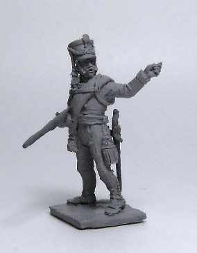 Officer Jaeger Regiment (№2). Russian Empire, 1812-14; 1/72 (20 mm)