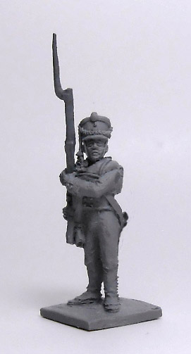 Soldier Jaeger Regiment (№4). Russian Empire, 1812-14; 1/72 (20 mm)