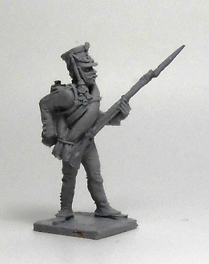 Soldier Jaeger Regiment (№3). Russian Empire, 1812-14; 1/72 (20 mm)