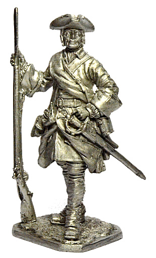 Corporal of Army infantry. Russia, 1708-20; 54 mm