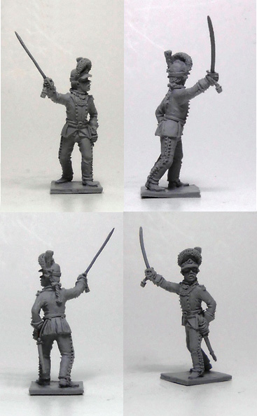 Infantry officer, 1786-1796; 1/72