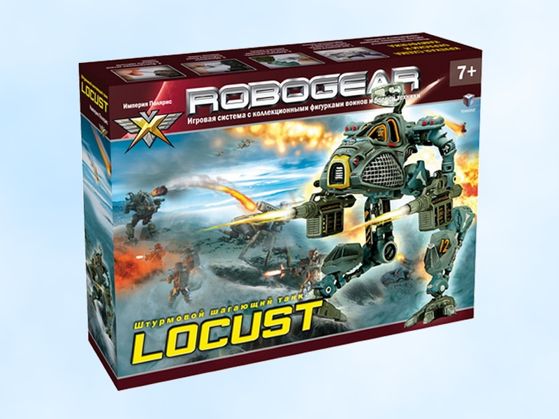 "Assault Battle Mech ""Locust"" (~ 1/48)"