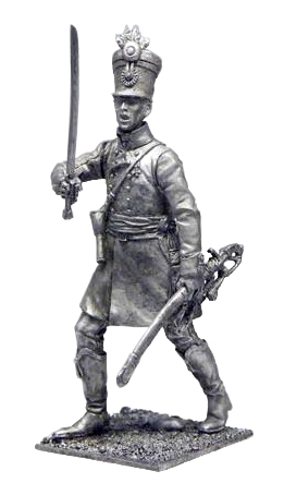 Officer Hungarian regiment line infantry. Austria-Hungary, 1805-14; 54 mm