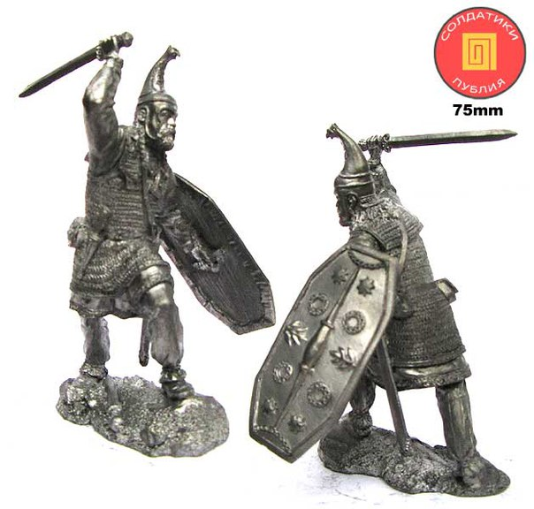 German leader, 1-2 centuries AD; 75 mm
