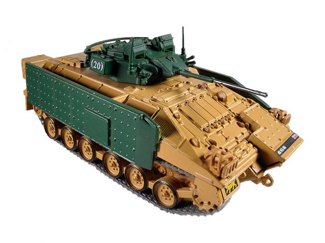 MCV-80 Warrior - British armoured vehicle; 1/72