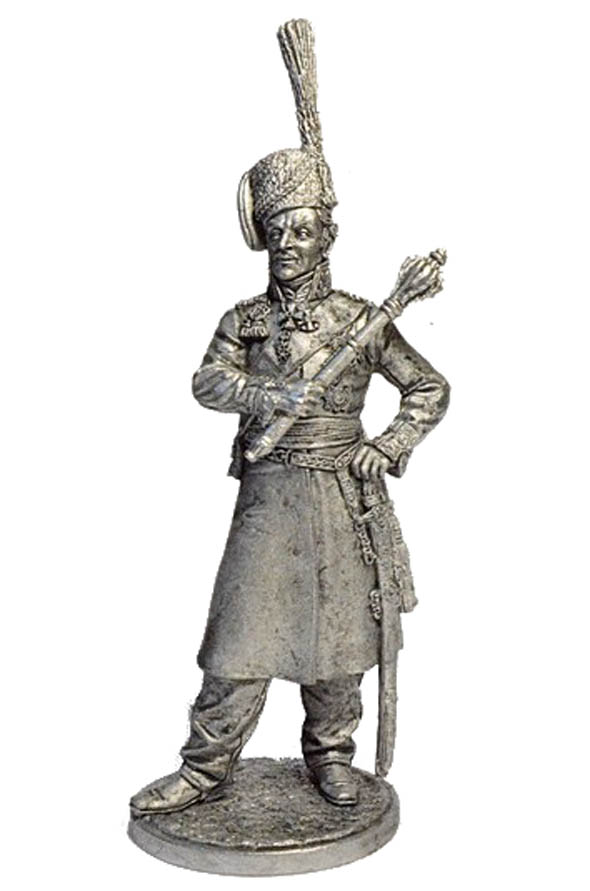 Ataman of the Don Cossack Host, General M.I. Platov. Russia, 1809-12; 54 mm