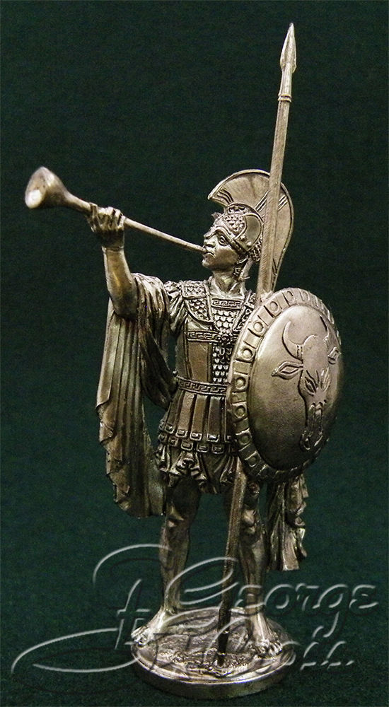 Trumpeter of Phocis. 5th century BC; 54 mm