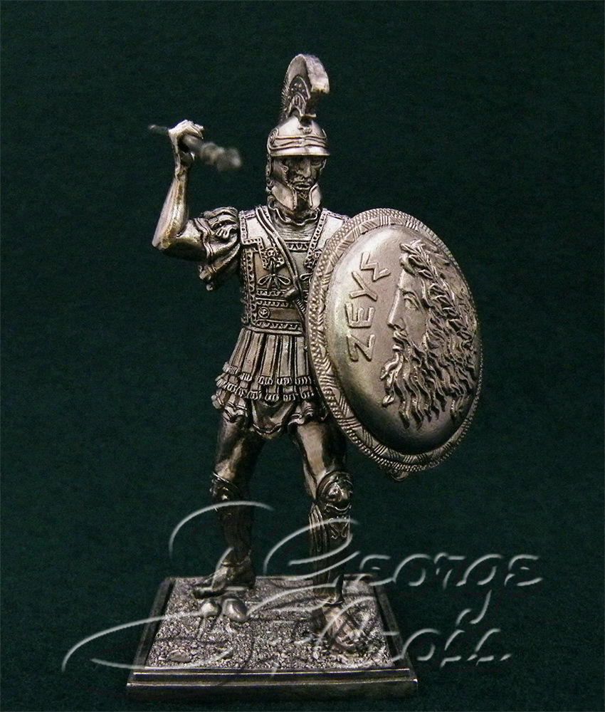Hoplite. 5th century BC; 54 mm