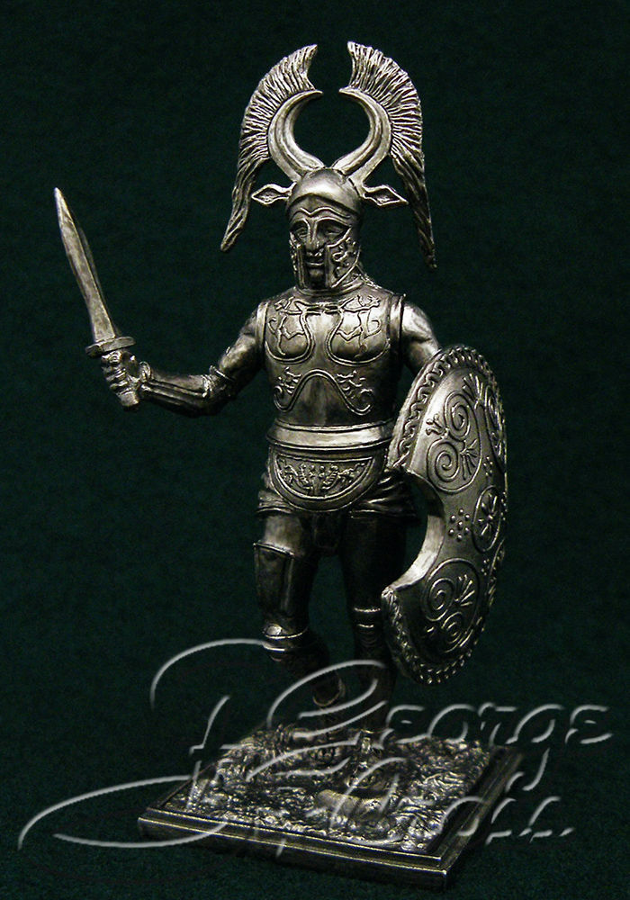 Spartan Hoplite. 6th century BC; 54 mm