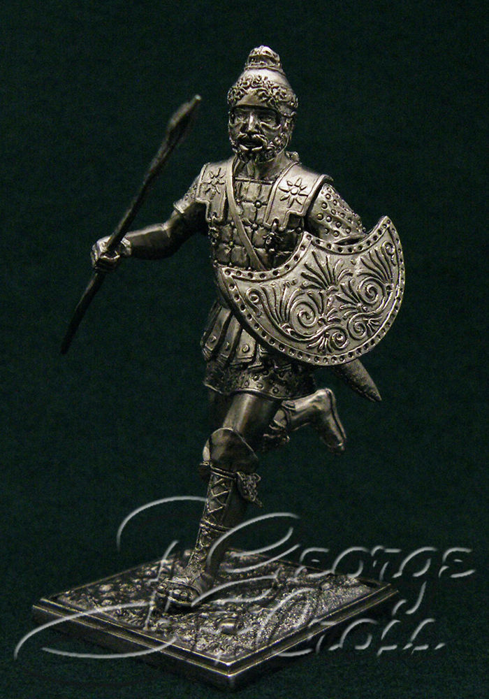 The Greek peltast. Army of Alexander and Diadochos 3-4 century BC; 54 mm