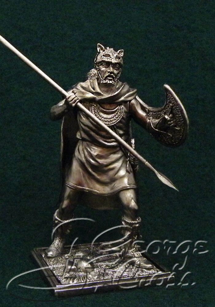Thracian Peltast. Army of Alexander and Diadochos 3-4 century BC; 54 mm
