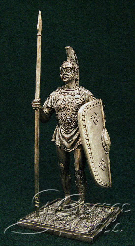 Samnite warrior. 3rd century BC; 54 mm