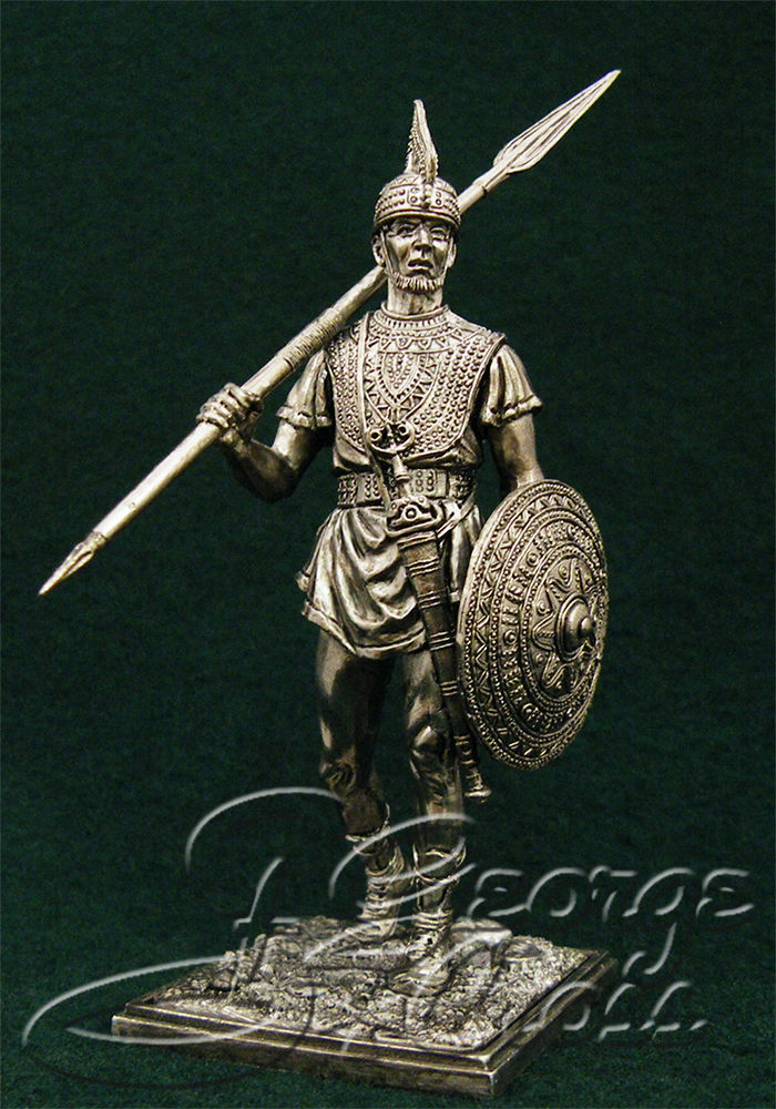 Warrior the Villanova. 7th century BC; 54 mm