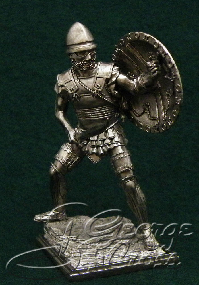 Etruscan warrior. 5th century BC; 54 mm