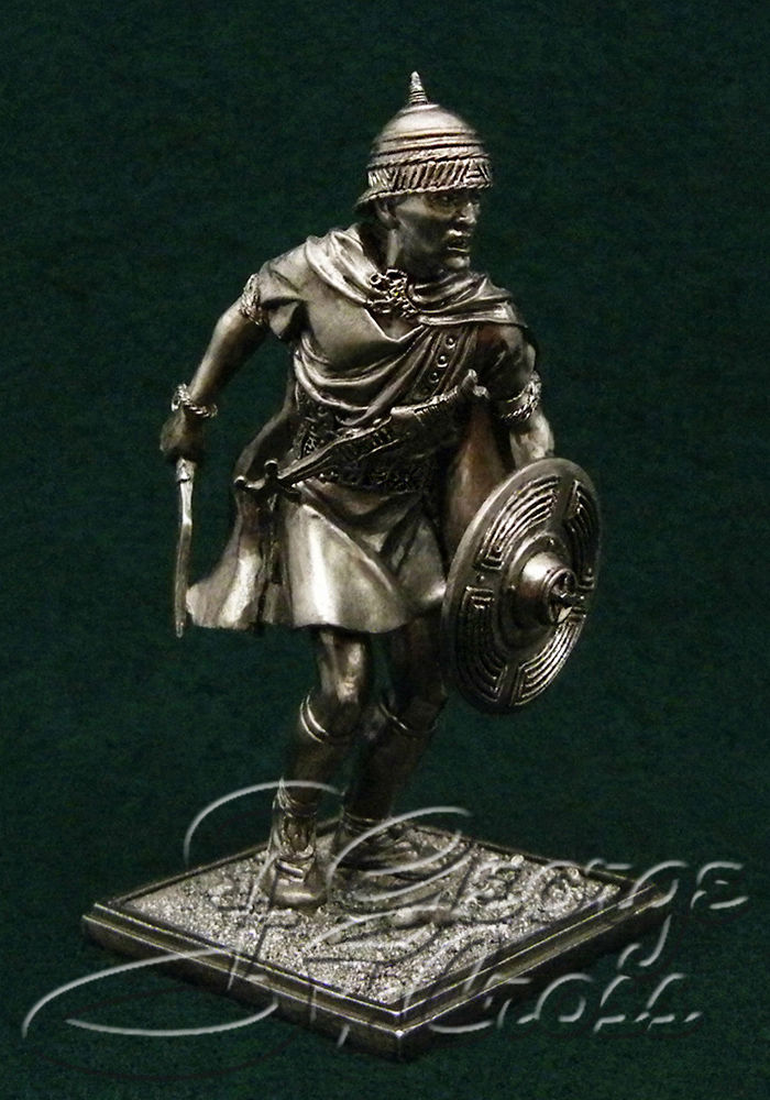 Celtiberian warrior. 2-3 century BC; 54 mm