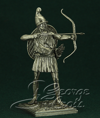 The Cretan Archer. Army of Alexander and Diadochos 3-4 BC; 54 mm