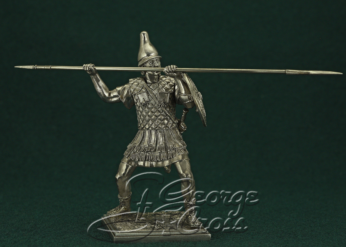 The Greek mercenary. Army of Alexander and Diadochos 3-4 BC; 54 mm