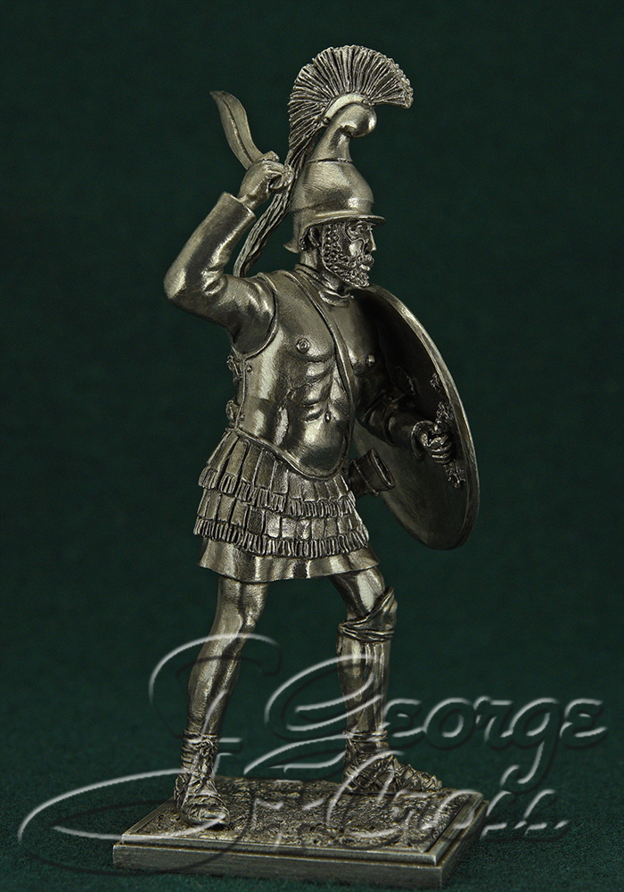 Argyraspid. Army of Alexander and Diadochos 3-4 BC; 54 mm