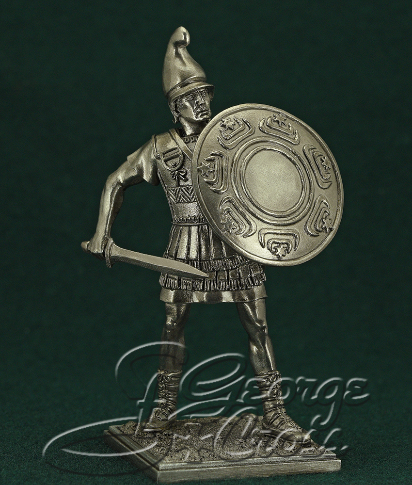 Hypaspist. Army of Alexander and Diadochos 3-4 BC; 54 mm