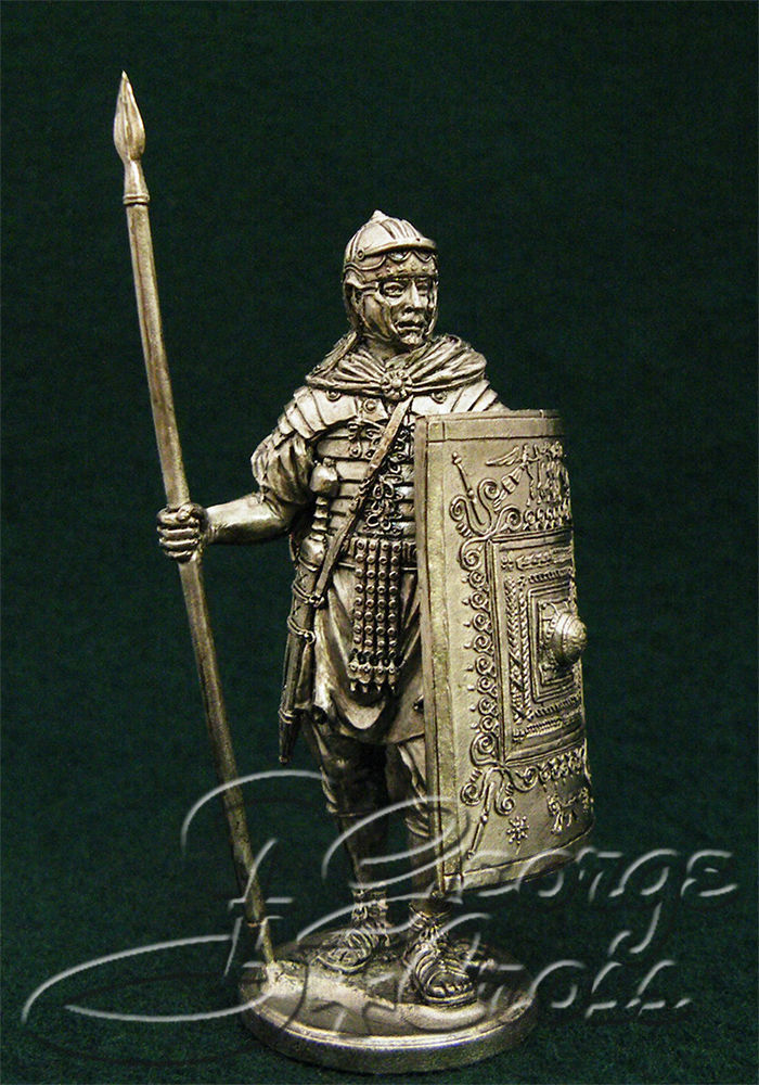 Legionary. 2nd century BC; 54 mm