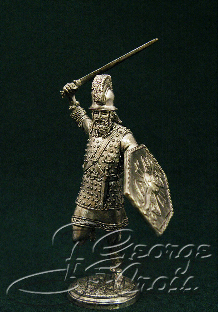Celtic warrior. 1-3 century BC; 54 mm