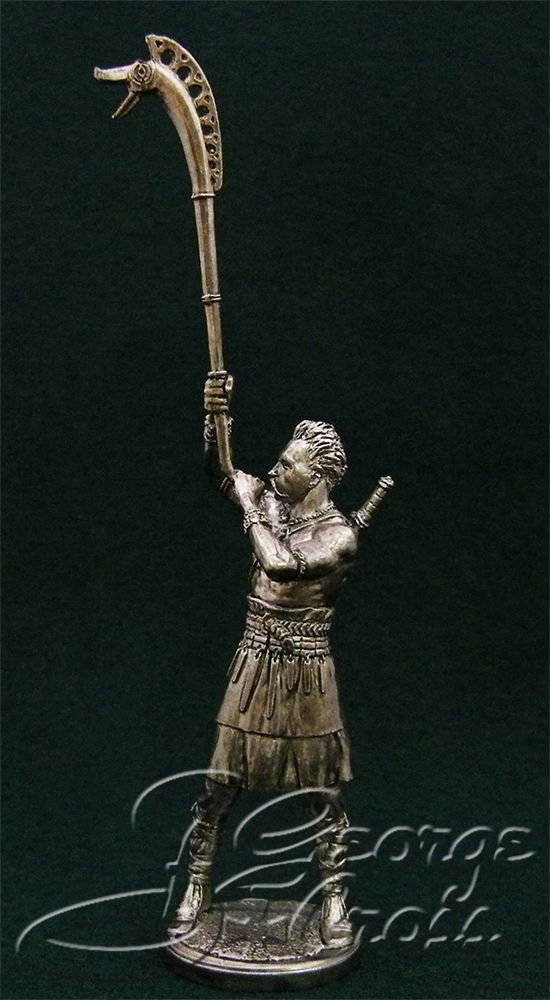 Celt with carnyx. 1-3 century BC; 54 mm