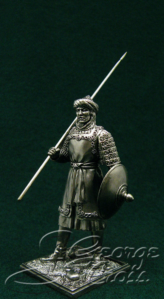 Berber from the army of the Fatimids. 10th century; 54 mm