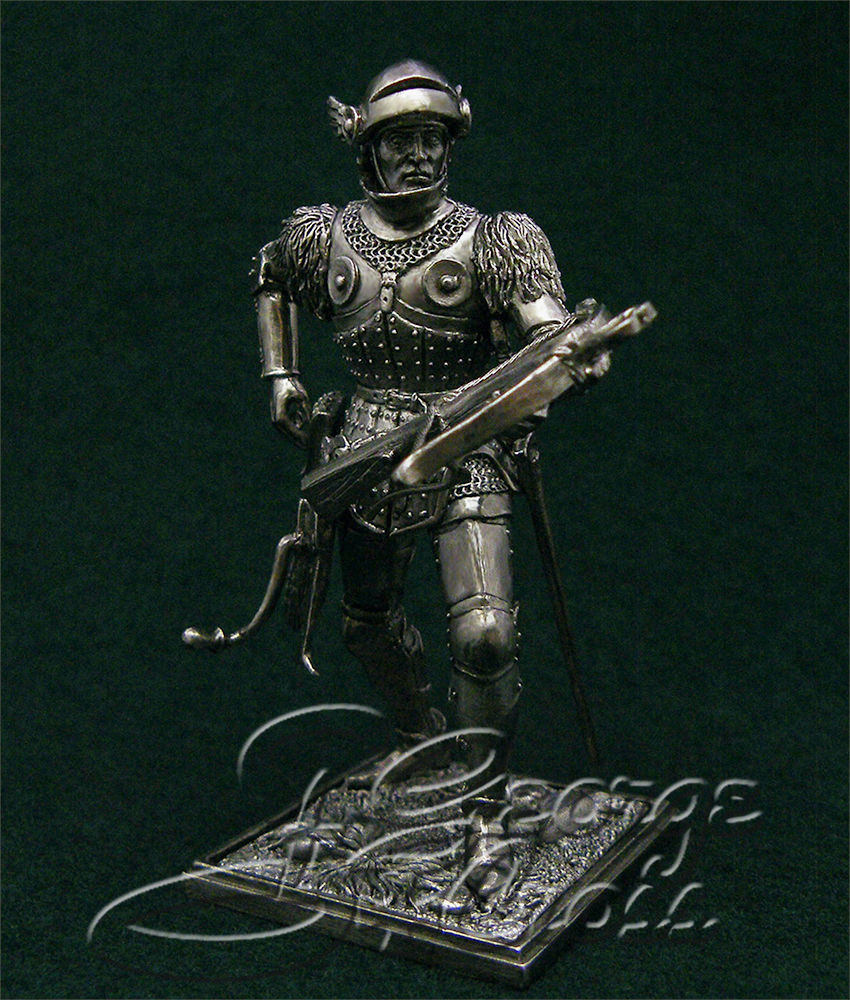 Crossbowman, the end of the 15th century; 54 mm