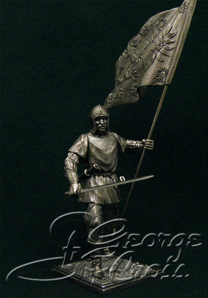 Standard bearer of York, the end of the 15th century; 54 mm