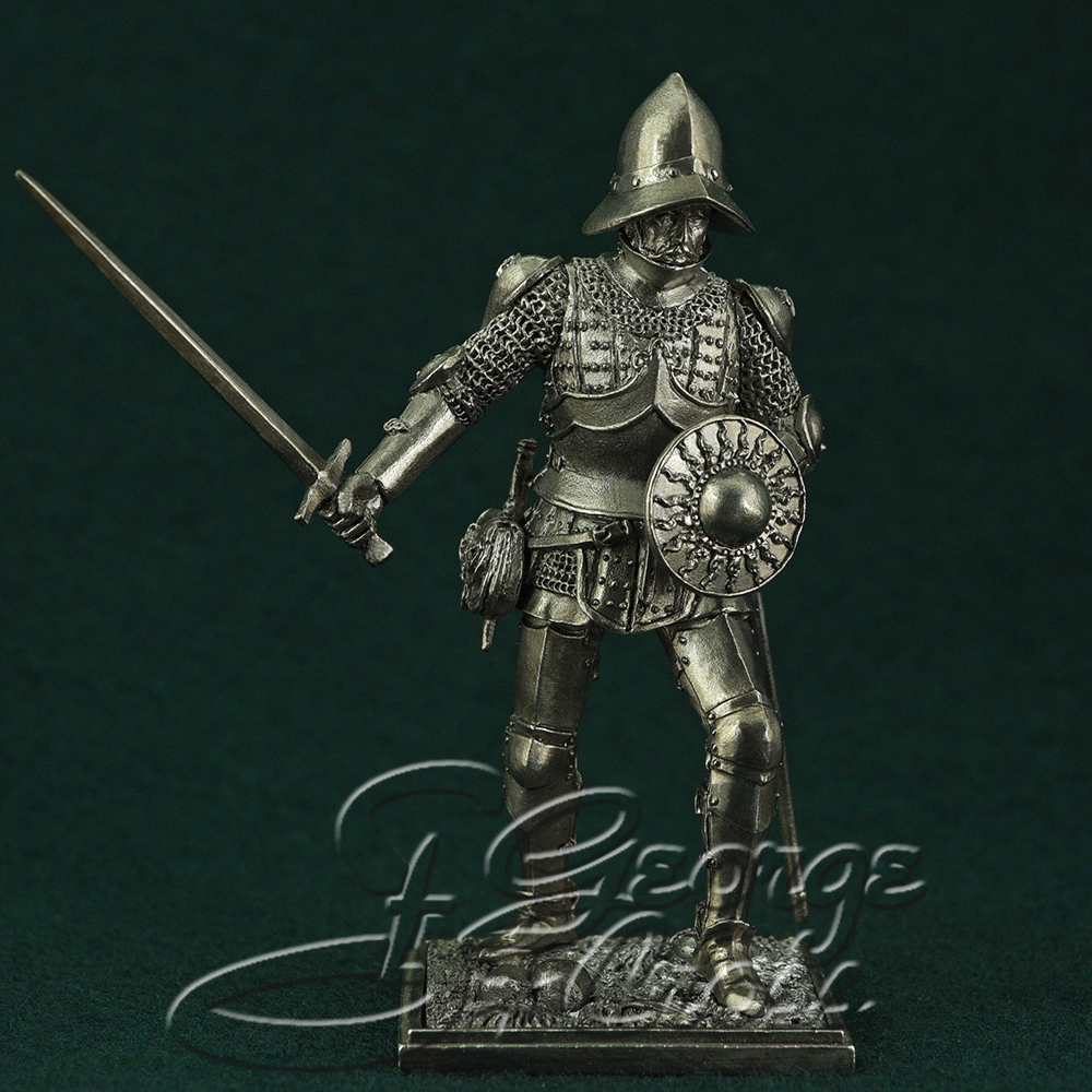 Mercenary soldier, the end of the 15th century; 54 mm