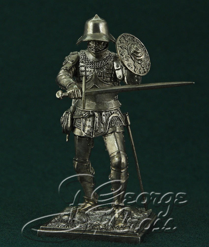 Soldier, the end of the 15th century; 54 mm