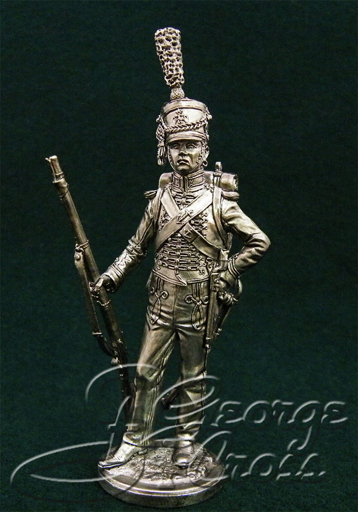 Private soldier seamen of the Imperial Guard. France, 1809-11; 54 mm
