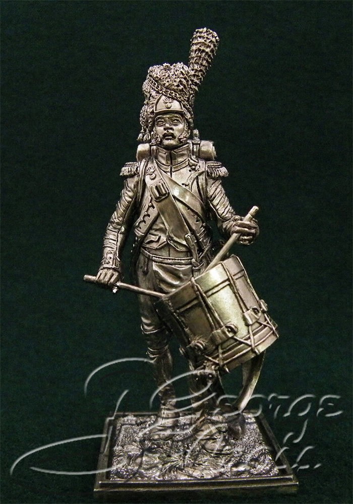 Drummer Grenadier Company. Line infantry. France, 1812; 54 mm