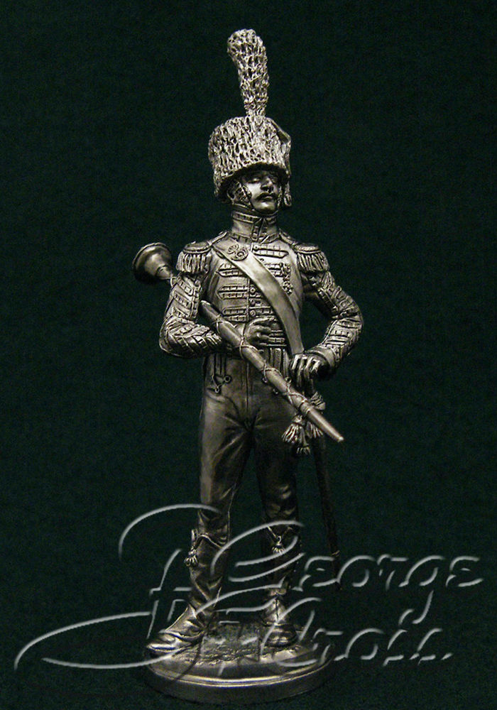 Drum-major of the regiment of light infantry. France, 1814; 54 mm