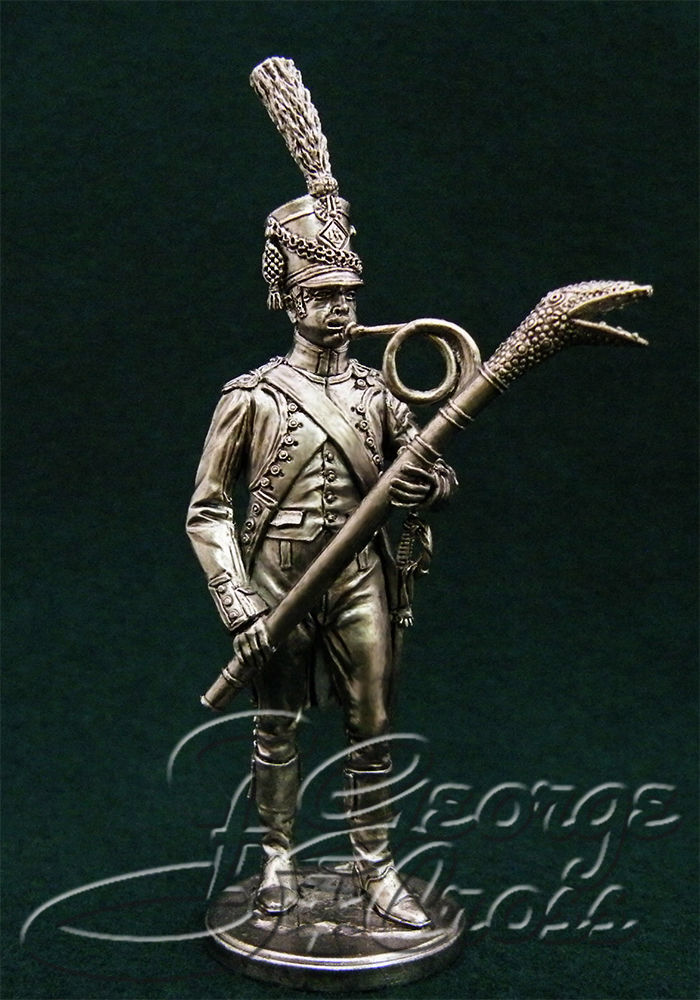 Musician of the 67th Regiment Line Infantry. France, 1808; 54 mm