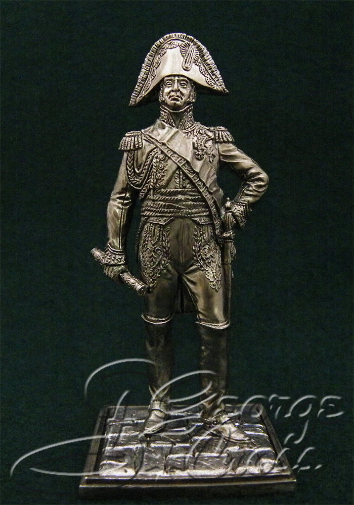Marshal Jean-de-Dieu Soult. France; 54 mm