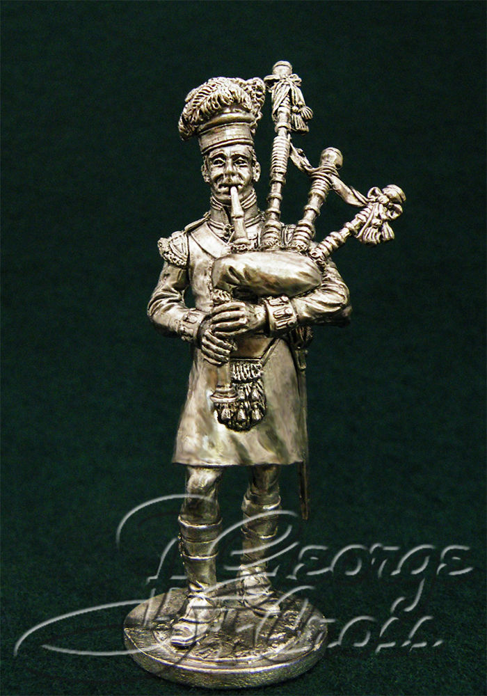Piper. 92nd Gordon regiment. United Kingdom, 1815; 54 mm