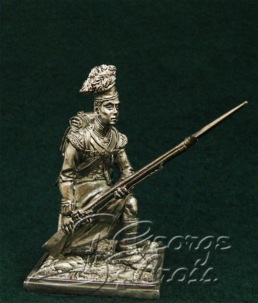 Private soldier. 92nd Gordon regiment. United Kingdom, 1815; 54 mm